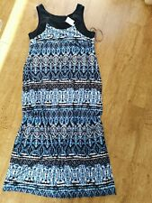 NEW LADIES MAXI DRESS EVANS SIZE 20 NEW WITH TAGS