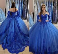 Princess Quinceanera Dresses Lace Applique Beaded Sweetheart Sweet 16 Dresses