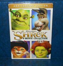 Shrek 1- 4 Complete Collection 1 2 3 4 Forever After Dvd 2016 4 Dvd's