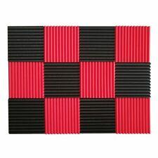 12 Pcs Acoustic Panels Soundproofing Foam Acoustic Tiles Studio Foam Sound X8V7