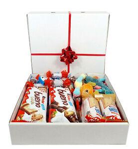 KINDER Chocolate Sweet Hamper Mix Selection Gift Box Present Halal Mix Fizzy