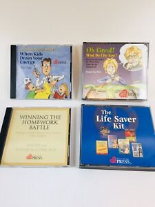 LOVE AND LOGIC Parenting Audio CDs Jim Fay Charles Fay Foster Cline - Lot Of 4