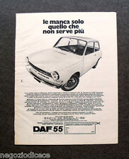 O865 - Advertising Pubblicità -1971- DAF 55 , AUTOMATIC-VARIOMATIC