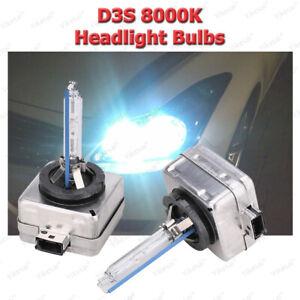8000K D3S D3C Headlight Bulbs Globes Xenon HID Replace For Audi A5 Chrysler 300