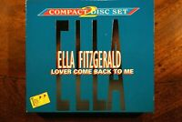 Ella Fitzgerald - Lover Come Back To Me, 2CD  -  CD, VG