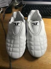 Tusah Taekwondo TKD White Indoor Martial Arts Shoes for boys, size 5