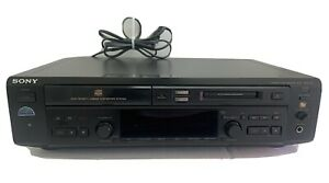 Sony MXD-D40 Compact disc MiniDisc Deck No Remote Tested