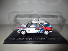 LANCIA DELTA HF INTEGRALE 16V MARTINI RACING 1991 HACHETTE SCALA 1:43
