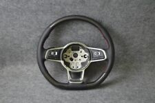 PELLE CARBONIO-Volante Adatto per VW Polo 5 V 6c GTI anche R WRC GT DSG (14+)