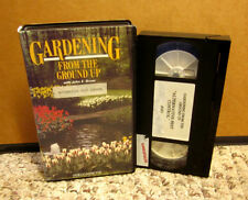 GARDENING FROM GROUND UP horticultural John Bryan VHS Alternative Pest Control
