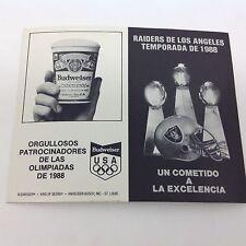 Raiders de Los Angeles Temporada de 1988
