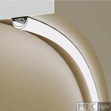"""(9€/m) 2m biegsames Profil / Leiste """"ELA"""" für LED Streifen/Stripes + Abdeckung"""