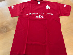 MMA K-1 Hawaii BJ Penn Vs Renzo Gracie  Event Brand New T Shirt Red Size XL