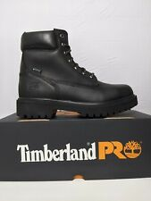 """Timberland PRO Direct Attach 6"""" Black Steel Toe Boots 26038 Men's Size 10"""
