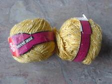 Schewe Wolle Strickgarn MIAMI IRISE 100 gr 2 Knäuel Mako-Baumwolle mattes Orange