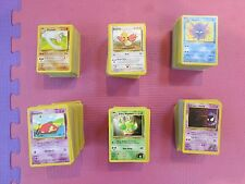 Pokemon Original Base 2, Jungle, Fossil, Rocket, Gym 15 Card Common/uncommon lot