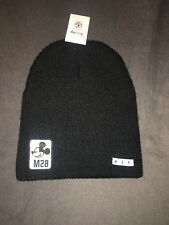 Neff Rare Disney Mickey Mouse Beanie Black With M28 Mickey Patch New One Size