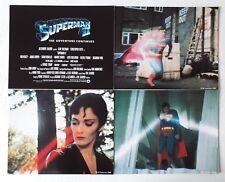 """9 PHOTOS D""""EXPLOITATION LOBBY CARDS - SUPERMAN 2"""
