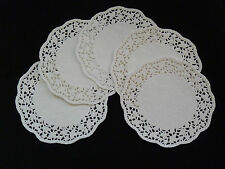 """50 pcs White Lace Paper Doilies Round Size 8.5"""""""
