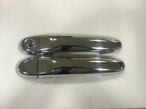 Genuine Nissan Juke F15 Exterior Front Door Handle Covers In Chrome Effect