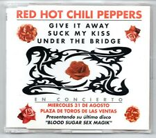 RED HOT CHILI PEPPERS Suck my kiss +2 RARE SPANISH PROMO CD SINGLE UNIQUE COVER