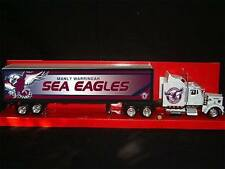 Manly Warringah Sea Eagles Custom Kenworth W900 Rugby League Truck 1/43