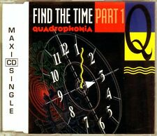 Quadrophonia - Find The Time (Part 1) - CDM - 1991 - Eurohouse Techno 4TR ARS