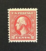US Stamp, Scott 527, 2c 1920, VF/XF, M/NH. Unusually large margins. Type V.