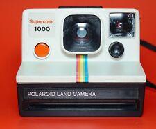 Polaroid 1000 Supercolor Land Camera Red Button Version  - Great