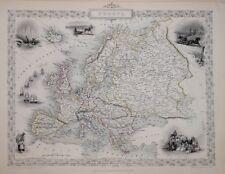 EUROPE BY JOHN TALLIS 1850