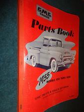 1955 GMC LIGHT DUTY TRUCK PARTS CATALOG  / ORIGINAL BOOK PICKUP PANEL SUBURBAN++