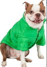 NEW PET LIFE SPORTY AVALANCHE GREEN WEATHERPROOF COAT DOG PUPPY OUTDOOR LARGE
