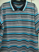 Men's Cotton Collared Loose Fit Striped Casual Shirts & Tops