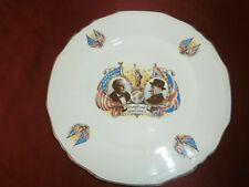 VTG CHAMPIONS OF DEMOCRACY PLATE * ROOSEVELT & CHURCHILL * Alfred Meakin Astoria