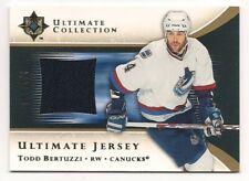 Todd Bertuzzi 05-06 Upper Deck Ultimate Game Jersey /250