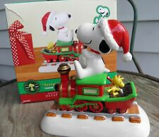 Snoopy's Christmas Express Train with Woodstock Dept. 56