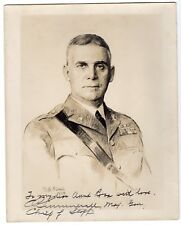 General Charles Summerall 1867-1955 Senior USA Army Officer. Signed 10x8 photo