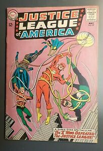 Justice League of America #27 ! DC 1964 ! NICE PAGES !  AMAZO !  hayfamzone