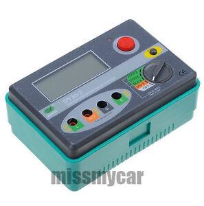 Digital Insulation Resistance Tester Megger MegOhm Meter 2500V 0~20GΩ Ohm DY30-2