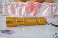 Golden Shell UltraFire 501B Flashlight White LED Bulb XP-G R5 1 Mode 4.2V-18V