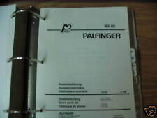 Palfinger BS 85 Auxiliary Stabilizers Parts List