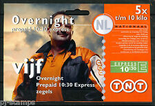 Express zegel TNT 10:30 uur compleet boekje van 5 * ZEER LASTIG MATERIAAL