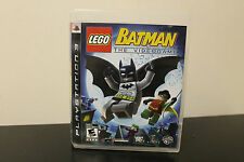 LEGO Batman: The Videogame  (Sony Playstation 3, 2008) *Tested / Complete