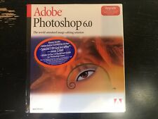 Adobe Photoshop 6.0 Upgrade for Mac New in Box and Original Shrinkwrap