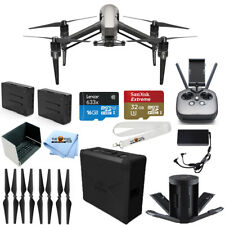 DJI Inspire 2 Quadcopter 2 BATTERY BUNDLE IN STOCK with 32GB Micro SD + MORE