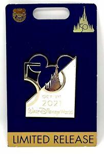 2021 Walt Disney World Parks 50th Anniversary Magic Kingdom October 1st Pin LR!!