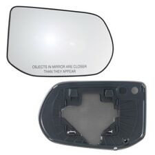 Fits 06-11 Honda Civic Passenger Side Mirror Glass With Back Plate