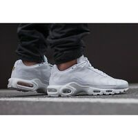 Nike Air Max Plus triple White AJ2029100 - Tn Cuir blanc