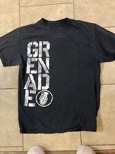 Grenade Mens Small Black Tshirt