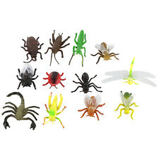 12X PVC Pretend Play Animals Insects Model Preschool Daycare Toy Kit.